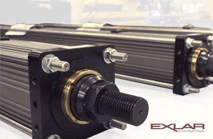 Exlar, электроцилиндры нового поколения