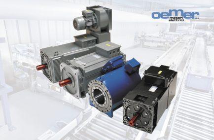 Oemer, электродвигатели высокой мощности (более 50 кВт)